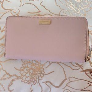 Kate spade light rose wallet